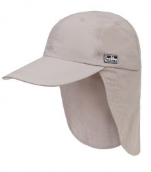 HAT WITH BACK BEIGE