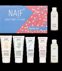 Naïf Gift Box Starter Kit Flatlay 717X768